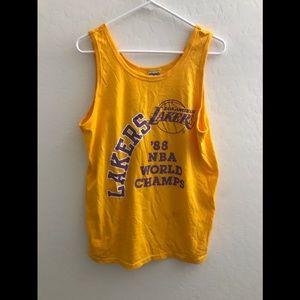 Vintage nba la lakers 1988 champion's tank top xl